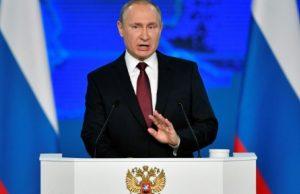 پوتین به مردم روسیه: یک ساله وضع اقتصادیاتان خوب میشود/آمریکا را هدف میگیریم