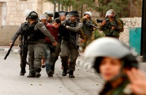 صهیونیستها ۶۰ فلسطینی را در قدس بازداشت کردند