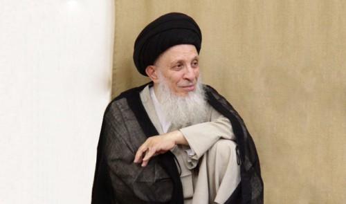 %name حضرت آیت الله حکیم وفات آیت الله سید محمد حسینی شاهرودی را تسلیت گفت