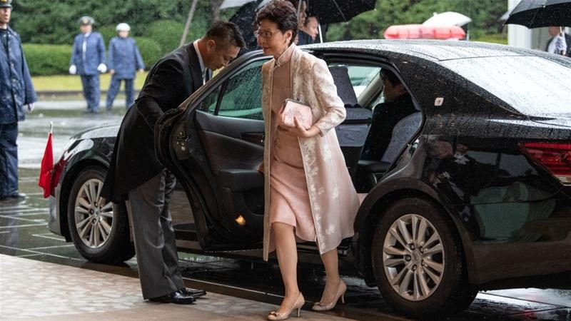 چین: رهبر هنگ کنگ بر کنار می شود