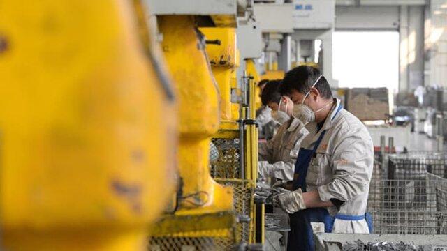 رشد منفی بیسابقه فعالیت کارخانه ها در چین