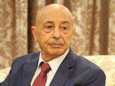 رئیس پارلمان لیبی