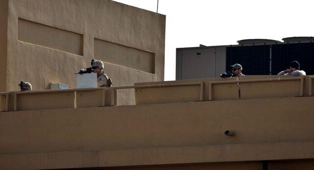 محافظت سفارت آمریکا با سامانه موشکی