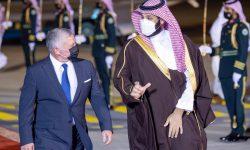 بررسی مسائل منطقه و جهان عرب در دیدار بن سلمان و عبدالله دوم