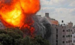ارتش اسرائیل:در یک دقیقه 65 هدف را در غزه را با 110 موشک بمباران کردیم