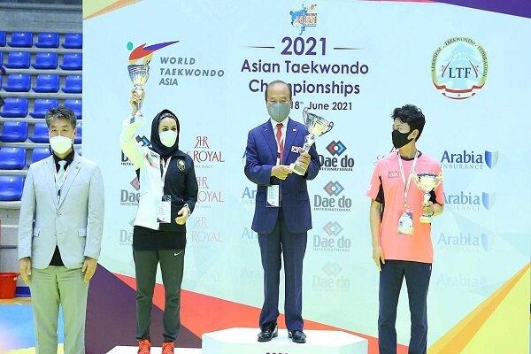 تکواندو قهرمانی آسیا – بیروت |  تیم ملی بانوان ایران نایب قهرمان شد