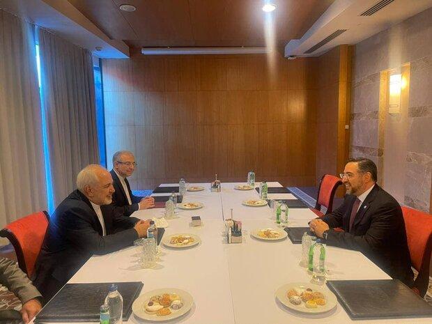 تاکید ظریف در حمایت از صلح و ثبات در افغانستان